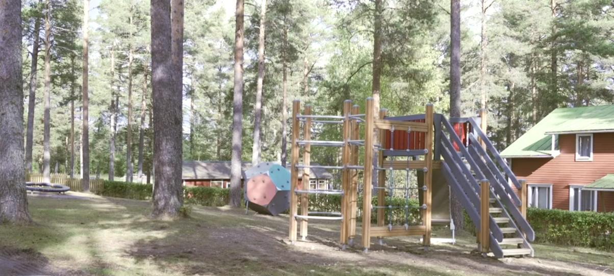 Детская площадка в Финляндии
