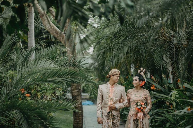 Жених и невеста острова Ява