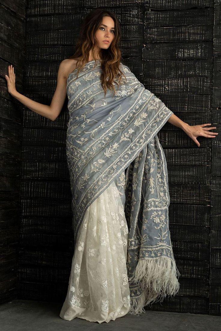Платье в стиле сари