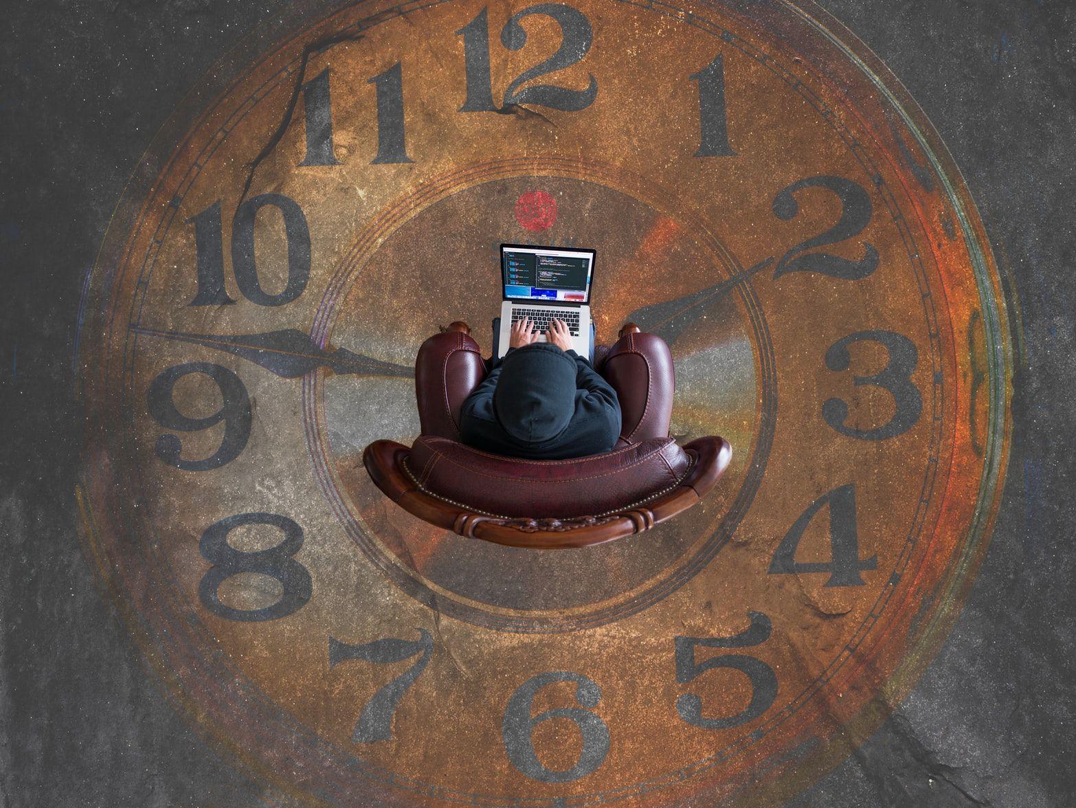 Время на рабочем месте